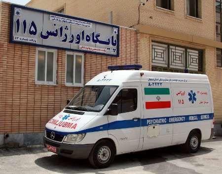 کمبود پایگاه اورژانس در البرز