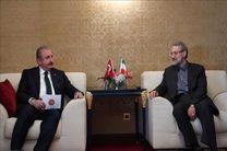 گفتگوی تلفنی رییس مجلس ترکیه با لاریجانی درباره کرونا