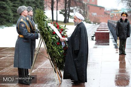 دومین روز حضور رییس جمهور کشورمان در روسیه