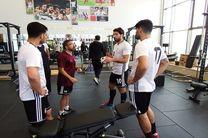 تیم ملی فوتبال ایران امروز در پک به تمرین پرداخت