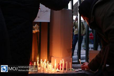 همدردی مردم با خانواده جانباختگان حادثه بویینگ اوکراینی