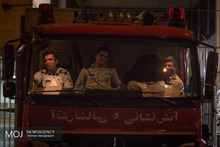 شب بیست و سوم ماه مبارک رمضان در مسجدجامع بازار تهران