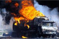آتش سوزی تانکر بنزین در آبادان منجر به فوت یک نفر شد