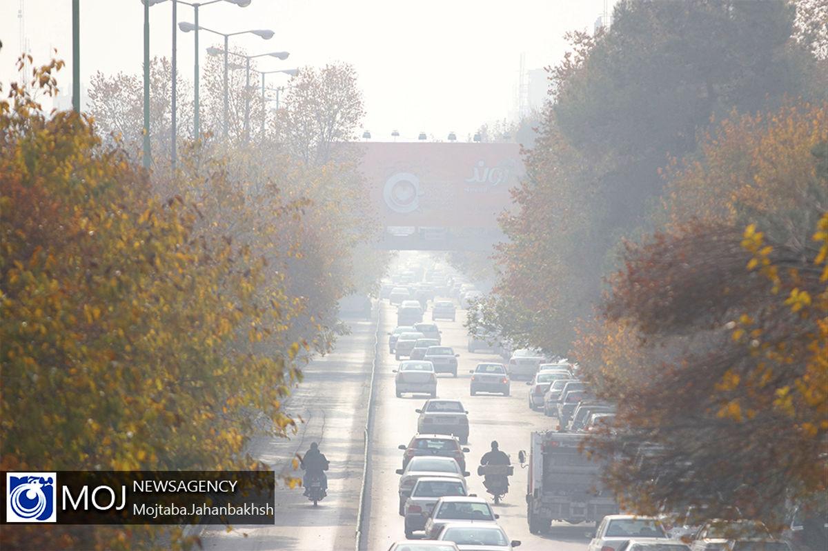 هوای اصفهان همچنان برای عموم ناسالم است