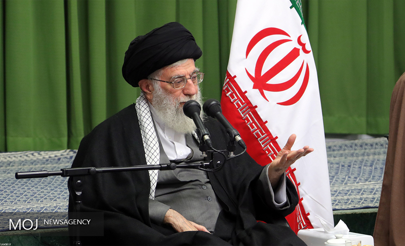 رهبر انقلاب در پیامی درگذشت والده سردار نقدی را تسلیت گفتند