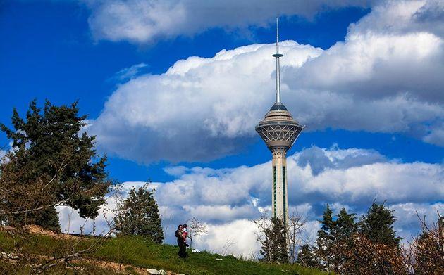 شاخص آلودگی هوای تهران 83 و در وضعیت سالم قرار دارد