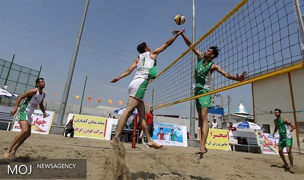 تیمهای ملی والیبال ساحلی ایران حذف شدند