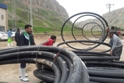 بازسازی بیش از 7 کیلومتر از شبکه های آب مناطق سیل زده در لرستان توسط شرکت آبفا اصفهان