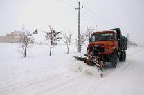 ۲۶ مسیر برون شهری به دلیل بارش برف و طغیان رودها مسدود شد