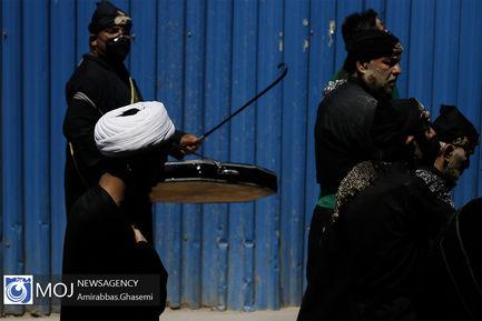 عزاداری ظهر تاسوعای حسینی در بازار بزرگ تهران