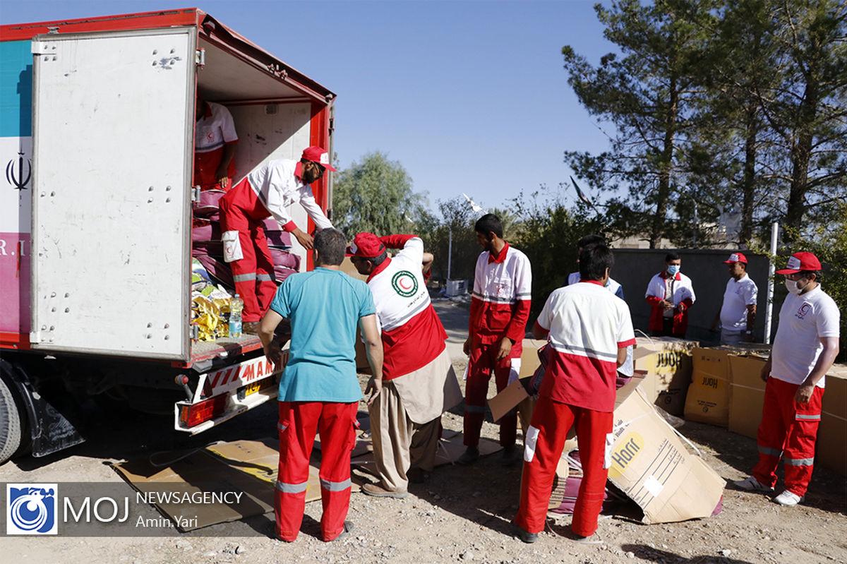 امدادرسانی به ۱۱۰ نفر بر اثر وقوع سیل در ۹ استان