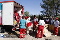 تشریح عملکرد عملیات امدادی هلال احمر هرمزگان
