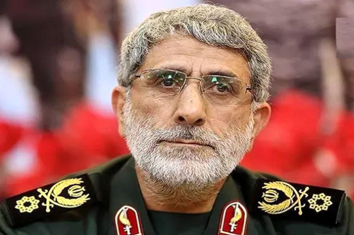 سردار قاآنی با مقامات عراقی در بغداد دیدار کرد