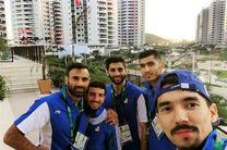 والیبالیستهای ایران در کنار بهترین تنیسور دنیا