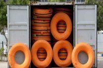 کشف بیش از 381 حلقه لاستیک قاچاق در فلاورجان