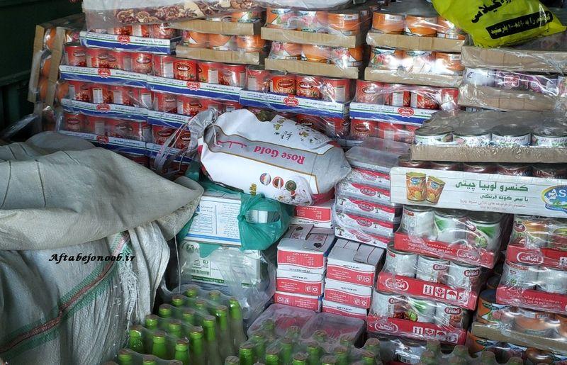 ارسال بیش از 3 میلیارد ریال مواد غذایی به مناطق سیل زده در اهواز