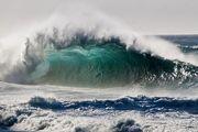 افزایش ارتفاع موج در دریای خزر