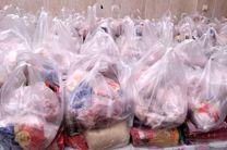 توزیع 500 بسته معیشتی بین  نیازمندان در خمینی شهر