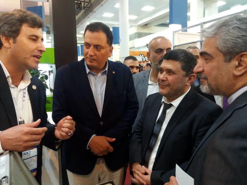 حضور ذوب آهن اصفهان در نمایشگاه بین المللی بازسازی سوریه