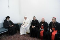مواضع آیتالله سیستانی در دیدار پاپ مایه عزت اسلام شد