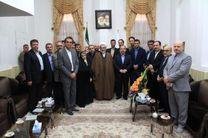 شهردار و مدیران شهرداری رشت با نماینده ولی فقیه در گیلان دیدار کردند