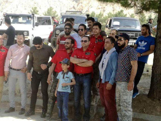همایش خودروهای کلاسیک، آفرود، نیونینگ و آپشن در کرمانشاه برگزار شد