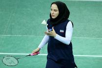 پیروزی ثریا آقایی در مسابقات بدمینتون قهرمانی آسیا