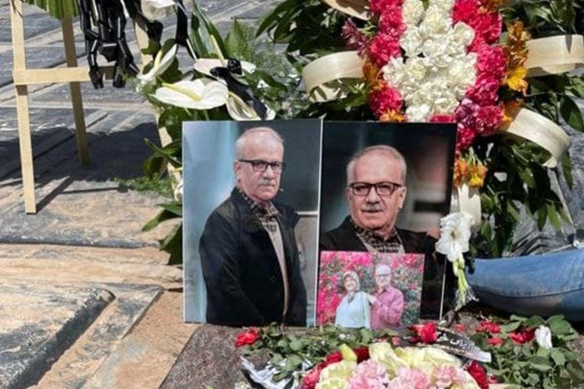 پیکر زنده یاد «مسعود بهبهانی نیا» در قطعه هنرمندان آرام گرفت