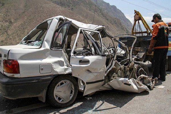 مرگ مادر باردار در حادثه تصادف در دزفول