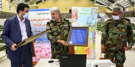 خدمت رسانی روزانه به بیش از 100بیمار در بیمارستان سیار ارتش