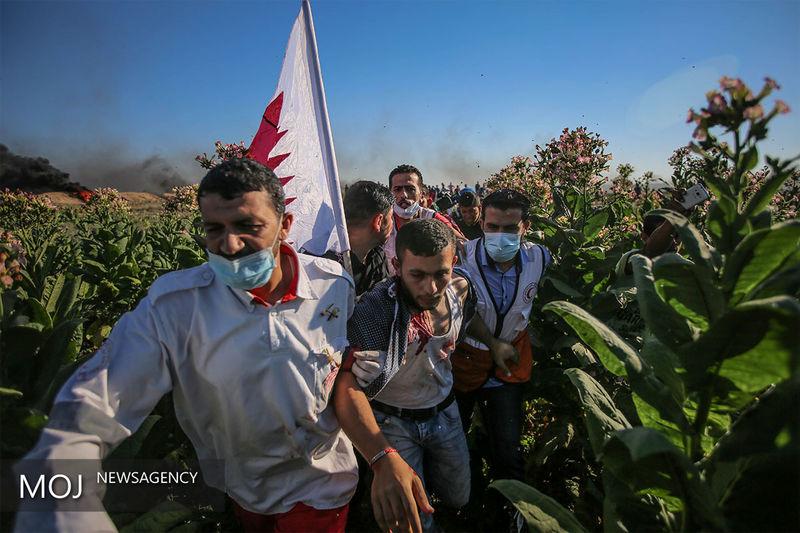 تظاهرات ضد آمریکایی «آنروا» در نوار غزه