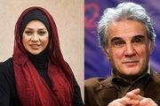 نسرین مقانلو و مهدی هاشمی بازیگران سریال کامیون شدند