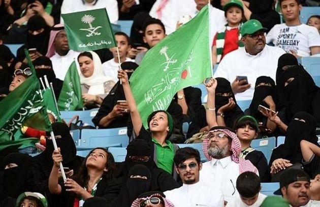 زنان عربستانی از 2018 به استادیوم های فوتبال می روند