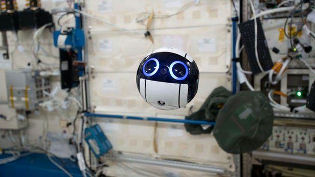 طراحی پهپادی برای فیلمبرداری از فعالیتهای فضایی