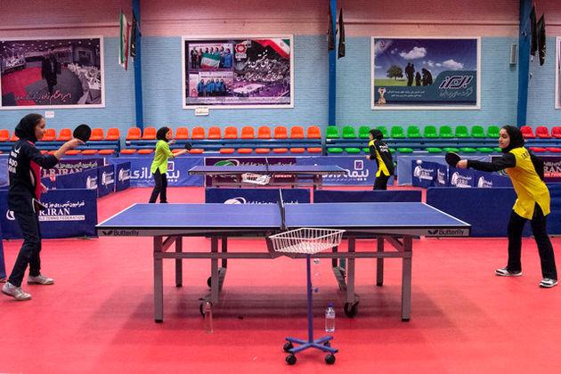 دوازدهمی بانوان پینگ پنگ باز در قهرمانی آسیا