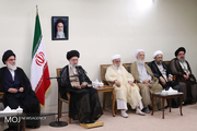 اعضای مجلس خبرگان با رهبر معظم انقلاب دیدار کردند