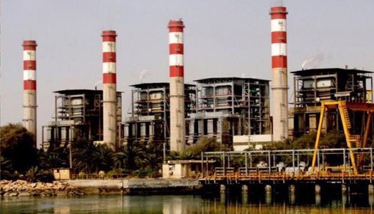 تعمیر اساسی واحدهای نیروگاه برق هرمزگان برای عبور از پیک تابستان