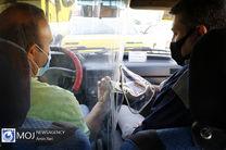 تلاش رانندگان وسایل حمل و نقل عمومی برای رعایت پروتکل های بهداشتی