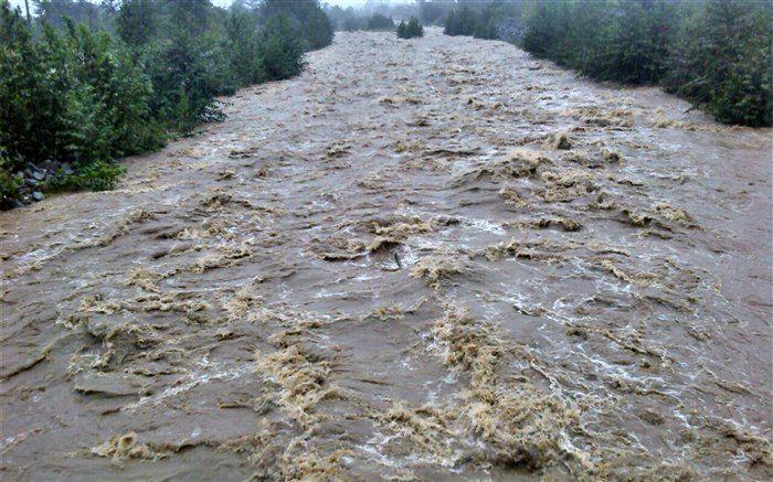 طغیان رودخانه به کشاورزان مینابی خسارت زد