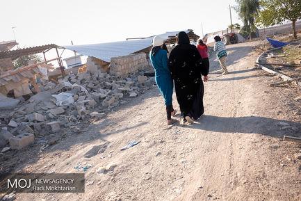 زندگی از پس ویرانی در روستاهای اطراف کرمانشاه