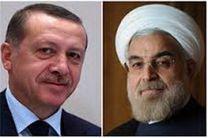پیام تبریک روحانی به اردوغان به مناسبت نوروز