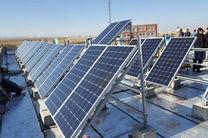 راهاندازی هفت نیروگاه خورشیدی در روستاهای اردبیل