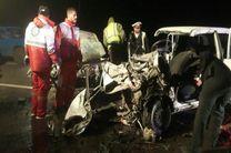 تصادف دو خودرو پراید در محور میانه- قره چمن 5 کشته برجا گذاشت