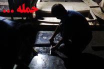 حمله شبانه به قبور شهدا در بهشت زهرای تهران