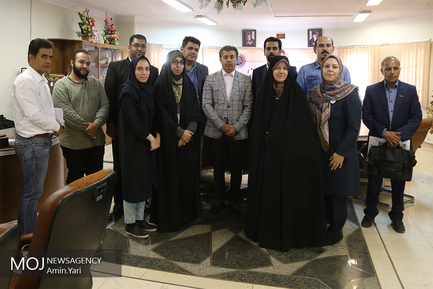 نشست خبری فرماندار شمیرانات با اهالی رسانه