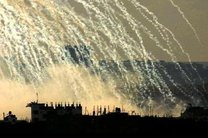 بمباران بیمارستان رقه با بمبهای فسفری توسط آمریکا