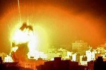 حمله جنگنده های رژیم صهیونیستی علیه نوار غزه