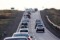 کاهش تردد در محورهای برونشهری کشور