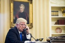 ایران موضوع گفتوگوی تلفنی ترامپ با امیر کویت و نخستوزیر عراق