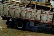 کشف 13 تن چوب قاچاق در رشت